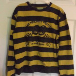 Other - Gatti Blue Striped Sweatshirt Boy Size 14